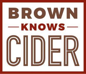 Brown Knows Cider